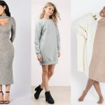Sweater Dress For Females